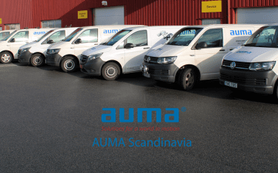 AUMA Scandinavia Service is growing!