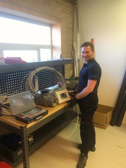 AUMA Scandinavia manage all kinds of electrical installations in Denmark